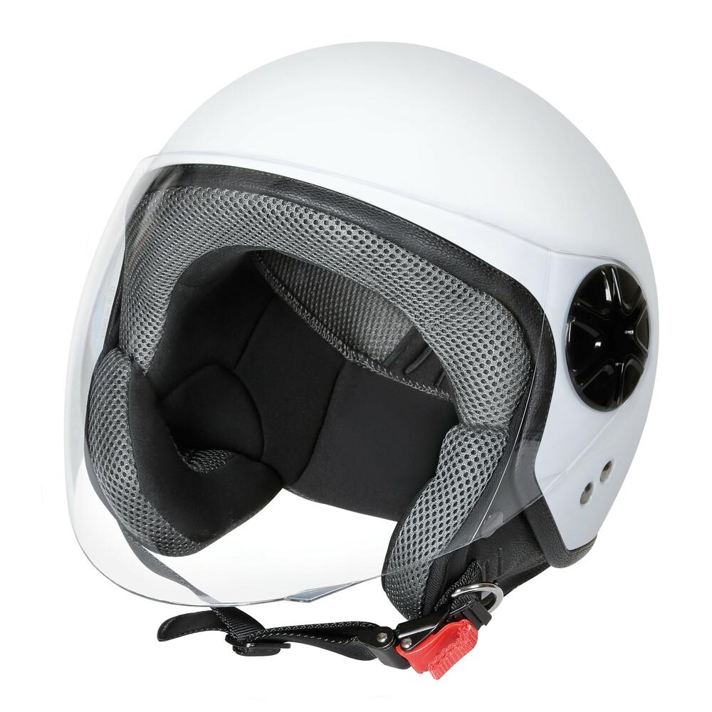 LD-3, casco demi-jet - Bianco opaco - XS