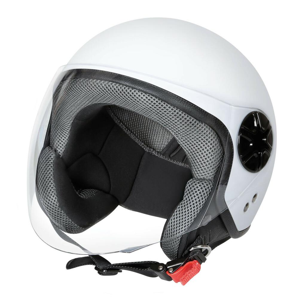 LD-3, casco demi-jet - Bianco opaco - L