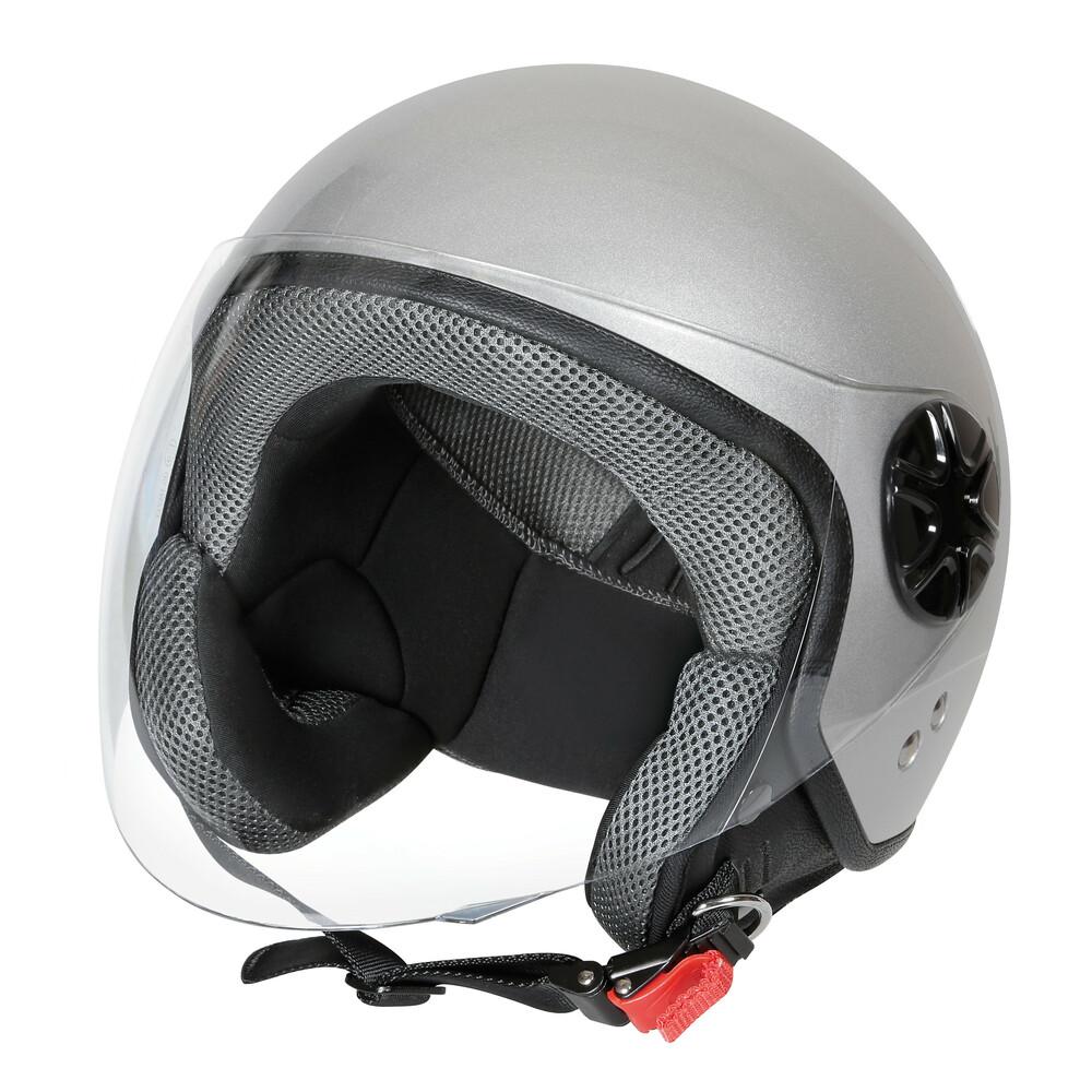 LD-3, casco demi-jet - Argento - XS