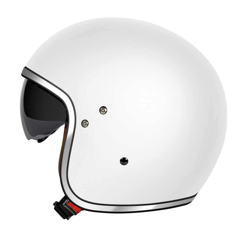 LH-2, casco demi-jet - Bianco opaco - M