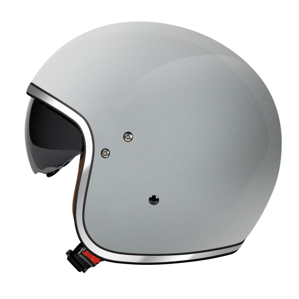 LH-2, casco demi-jet - Argento - XL