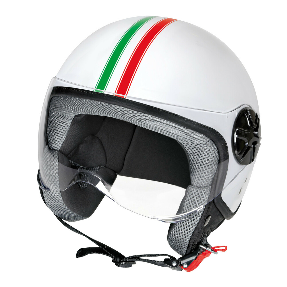 LD-2, casco demi-jet - Bandiera Italiana - XS