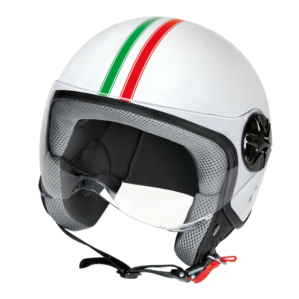 LD-2, casco demi-jet - Bandiera Italiana - XL