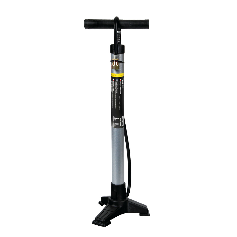 Pompa gonfiaggio tre-piedi in acciaio - H 440 mm - Ø 35 mm