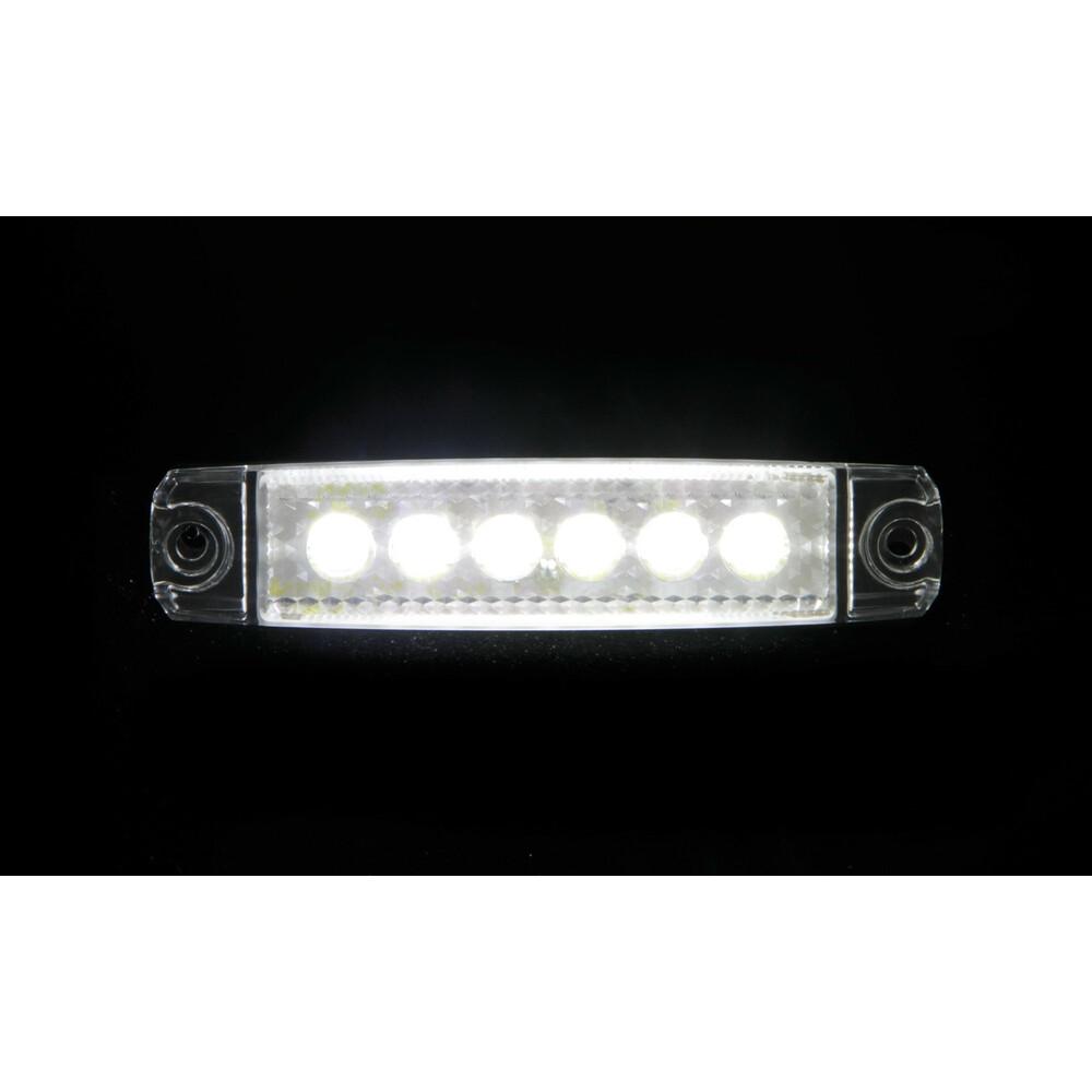 Verde Lampa 97010 Luce Ingombro 6 LED 12//24V V-4
