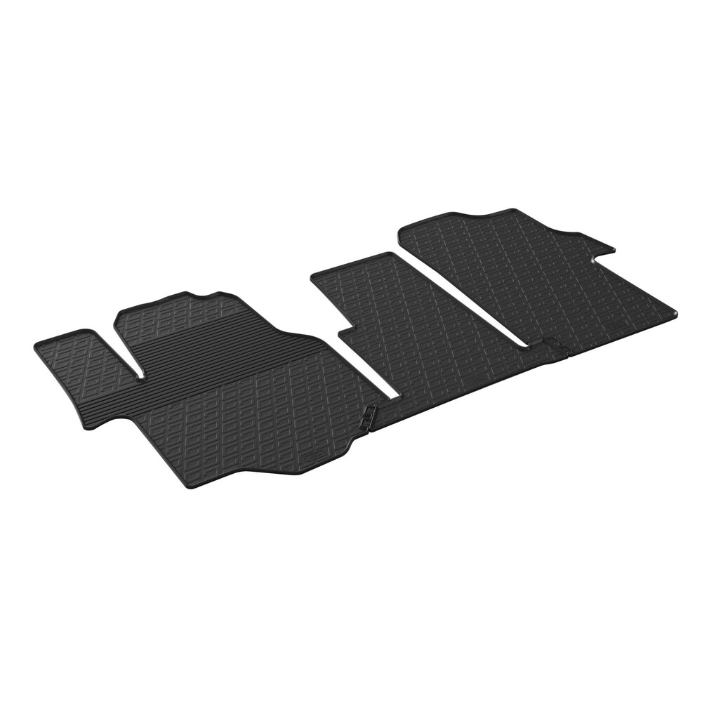 Tailored rubber mats -  Man TGE (04/17>) -  Volkswagen Crafter (01/17>)