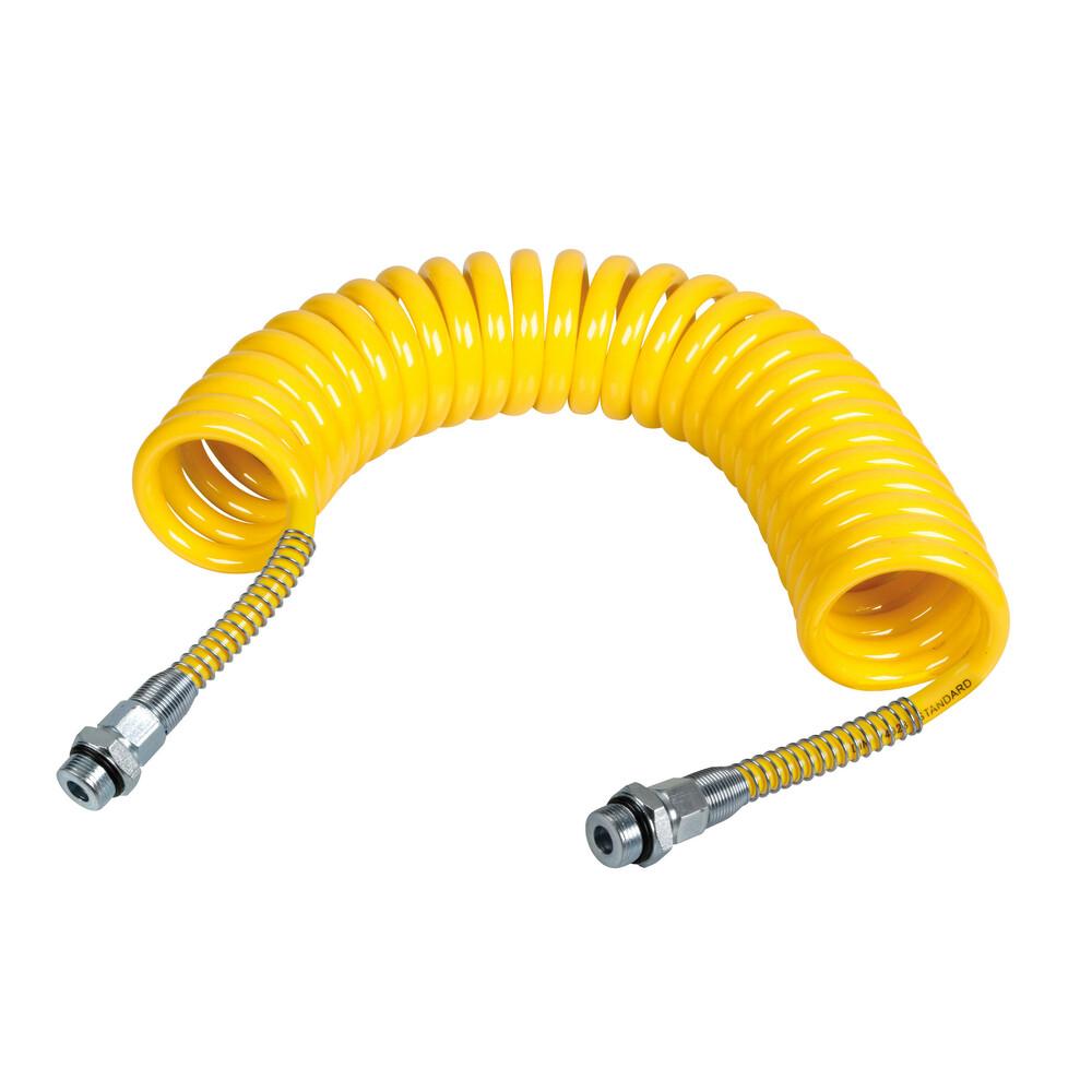 Tubo aria a spirale - Giallo
