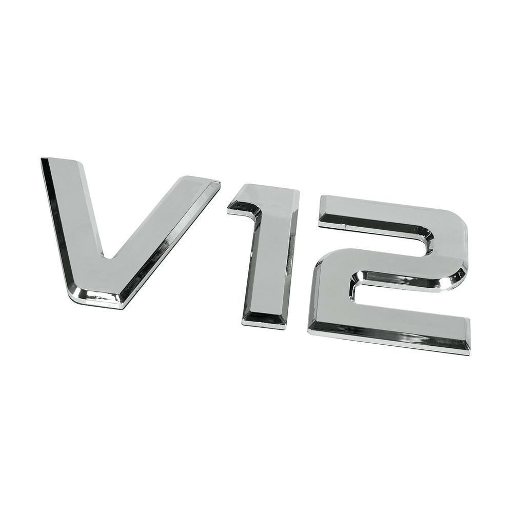 Emblemi motore 3D cromati - 92