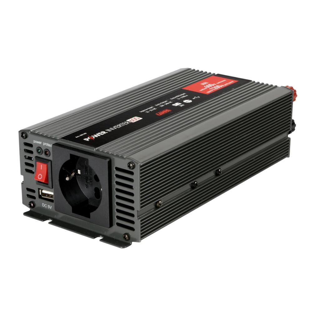 Power Inverter 500, trasformatore 24V > 220V