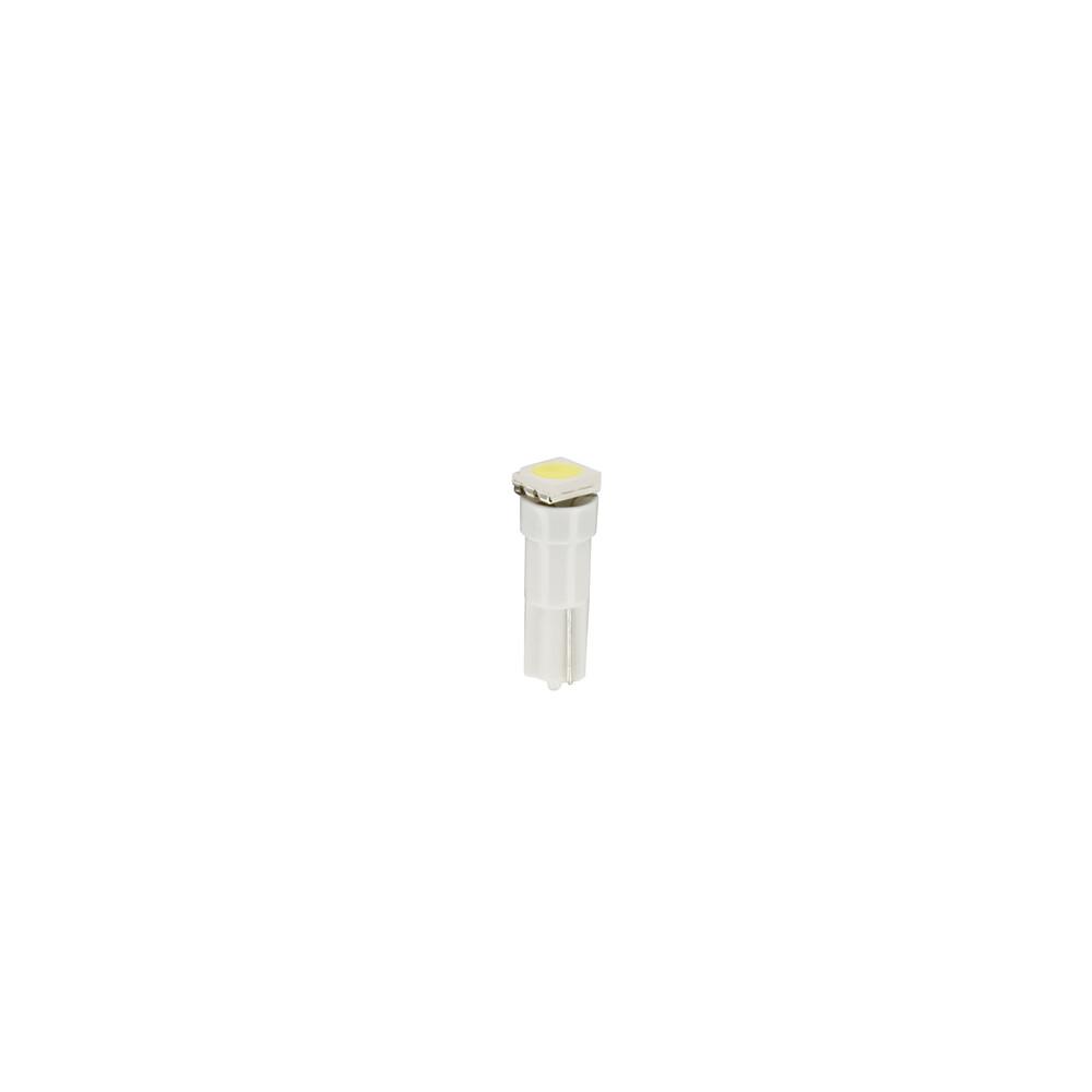 24/28V Hyper-Led 3 - 1 SMD x 3 chips - (T5) - W2x4,6d - 20 pz  - Busta - Bianco