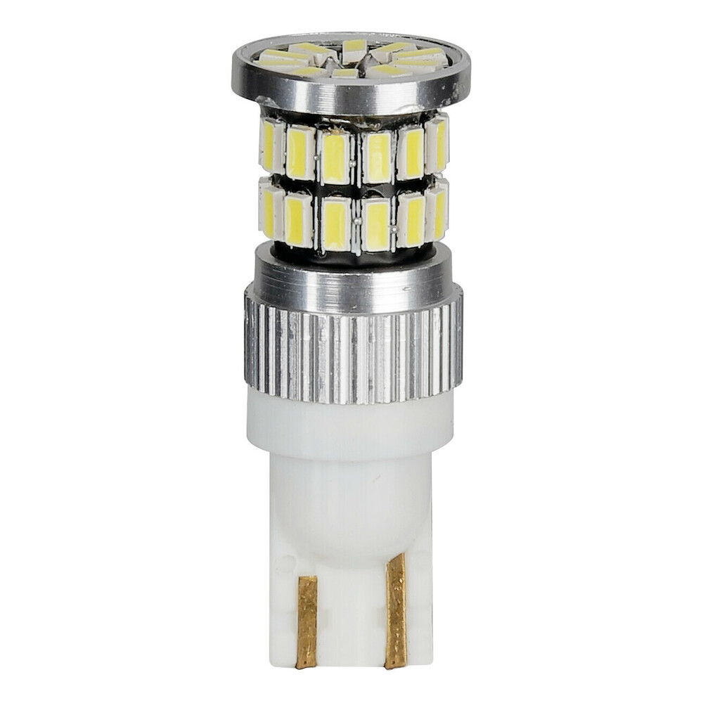 24-30V Mega-Led 36 -  36 SMD x 1 chip - (T10) - W2,1x9,5d - 20 pz  - Busta - Bianco - Doppia polarità
