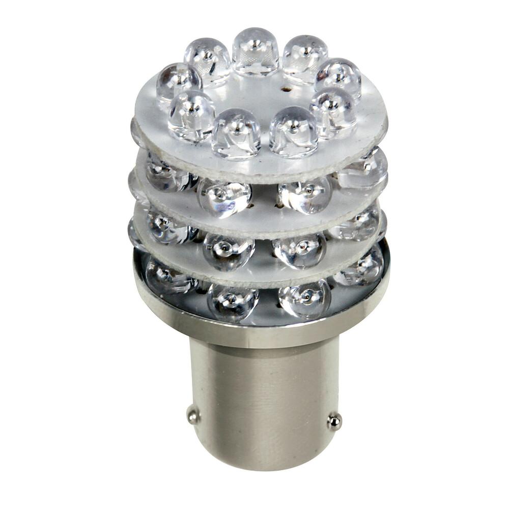 24V Lampada Multi-Led 36 Led - (P21W) - BA15s - 1 pz  - D/Blister - Blu