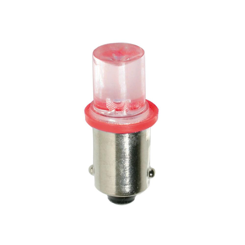 24V Micro lampada 1 Led - (T4W) - BA9s - 2 pz  - D/Blister - Rosso