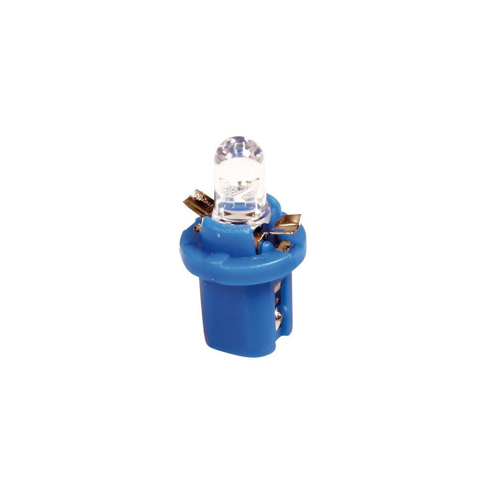24V Lampada cruscotto 1 Led - B8,5d - 2 pz  - D/Blister - Bianco