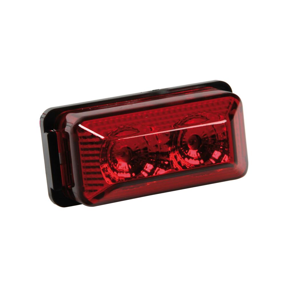 Luce ingombro a 2 Led, 24V - Rosso
