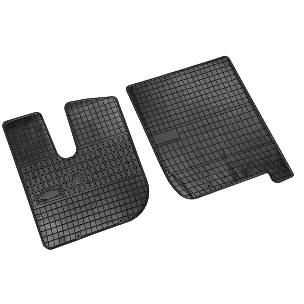 Set tappeti su misura in gomma - Iveco Stralis (8/02>12/12) cab. larga - Iveco Stralis Hi-Way (7/12>) cab. larga
