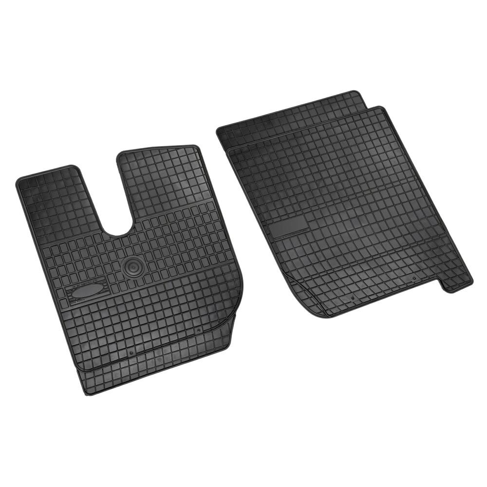 Set tappeti su misura in gomma - Iveco Stralis (8/02>12/12) cab. stretta - Iveco Stralis Hi-Way (7/12>) cab. stretta