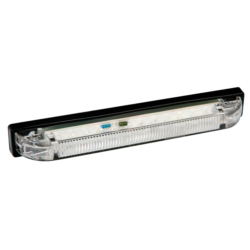Luce ingombro a 12 Led, 24V - Bianco