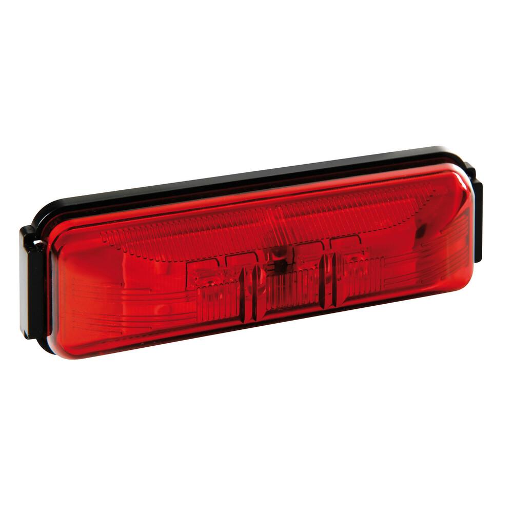 Luce ingombro a 4 Led, 24V - Rosso