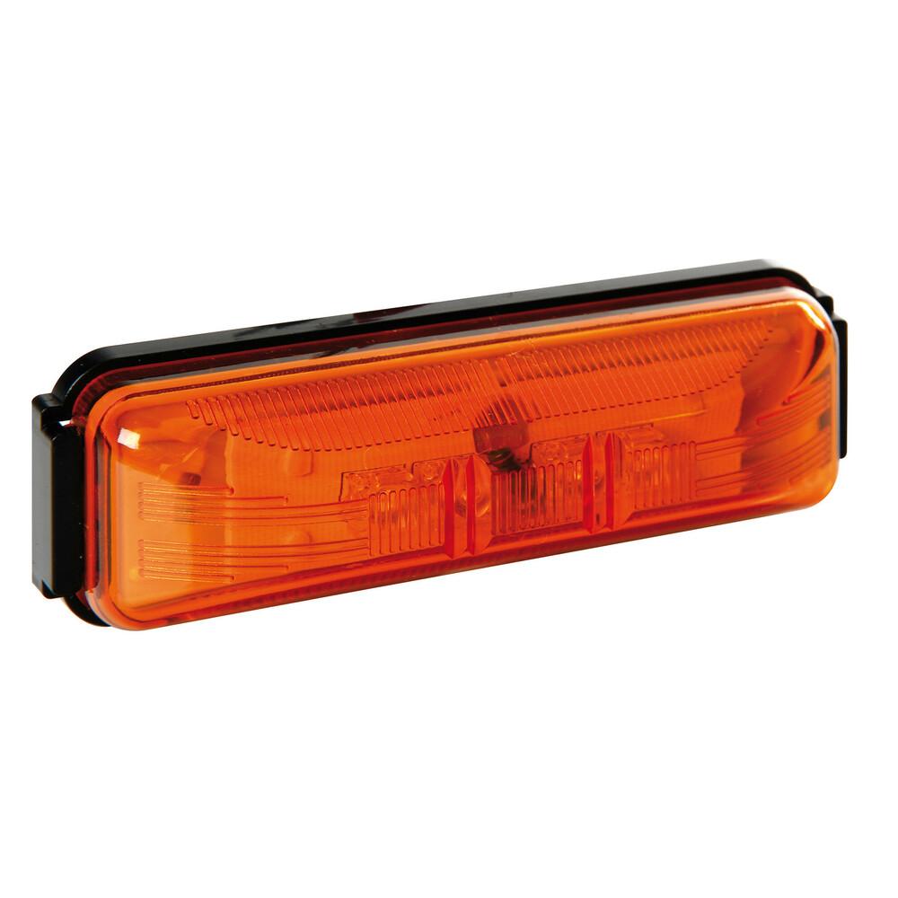Luce ingombro a 4 Led, 24V - Arancio