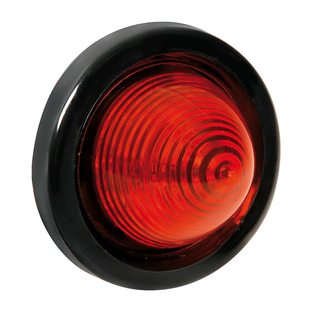 Luce ingombro a 9 Led, 24V - Rosso