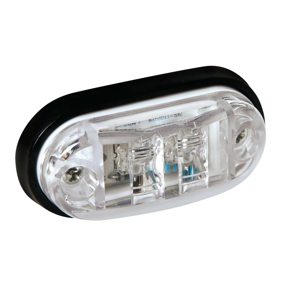 Luce ingombro a 2 Led, 24V - Bianco
