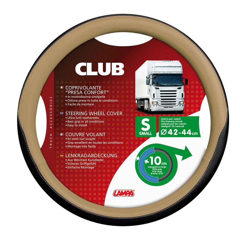 Club, coprivolante presa confort - S - Ø 42/44 cm - Beige