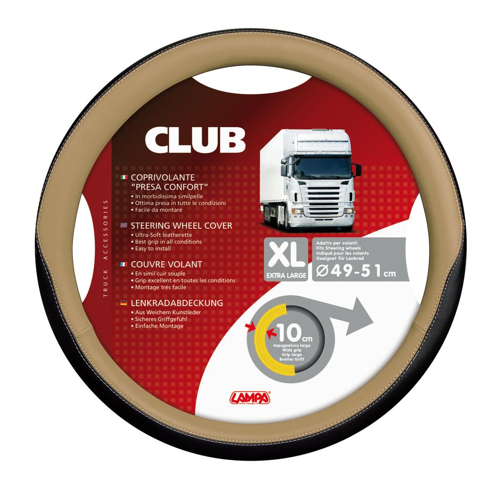 Club, coprivolante presa confort - XL - Ø 49/51 cm - Beige