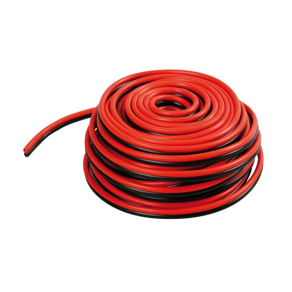 Cavo elettrico a due fili - 0,5 mm² x 10 m