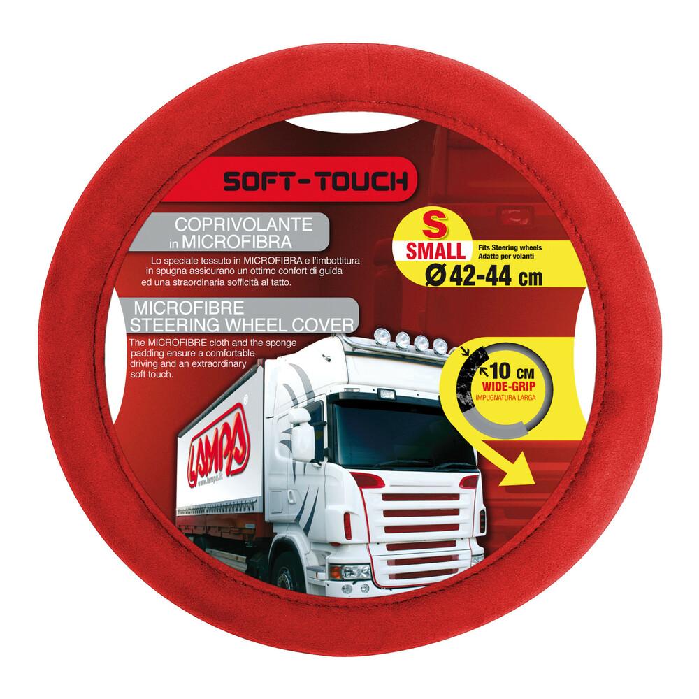Soft Touch, coprivolante - S - Ø 42/44 cm - Rosso