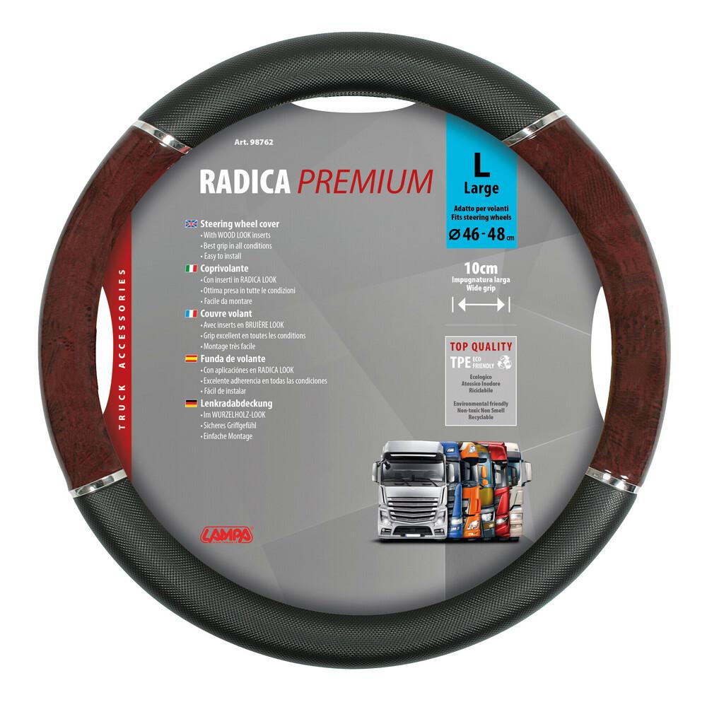 Radica, coprivolante in TPE - L - Ø 46/48 cm