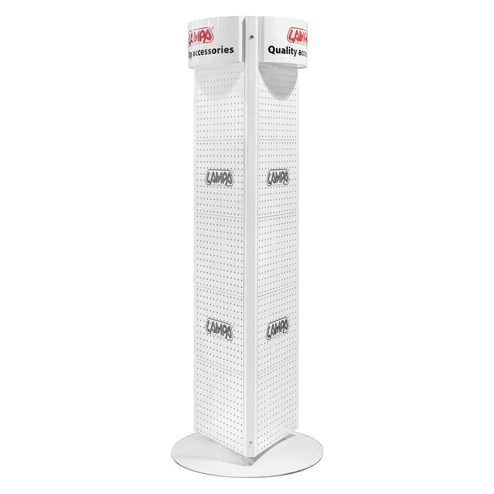 Espositore singolo - N - 172 cm - Bianco