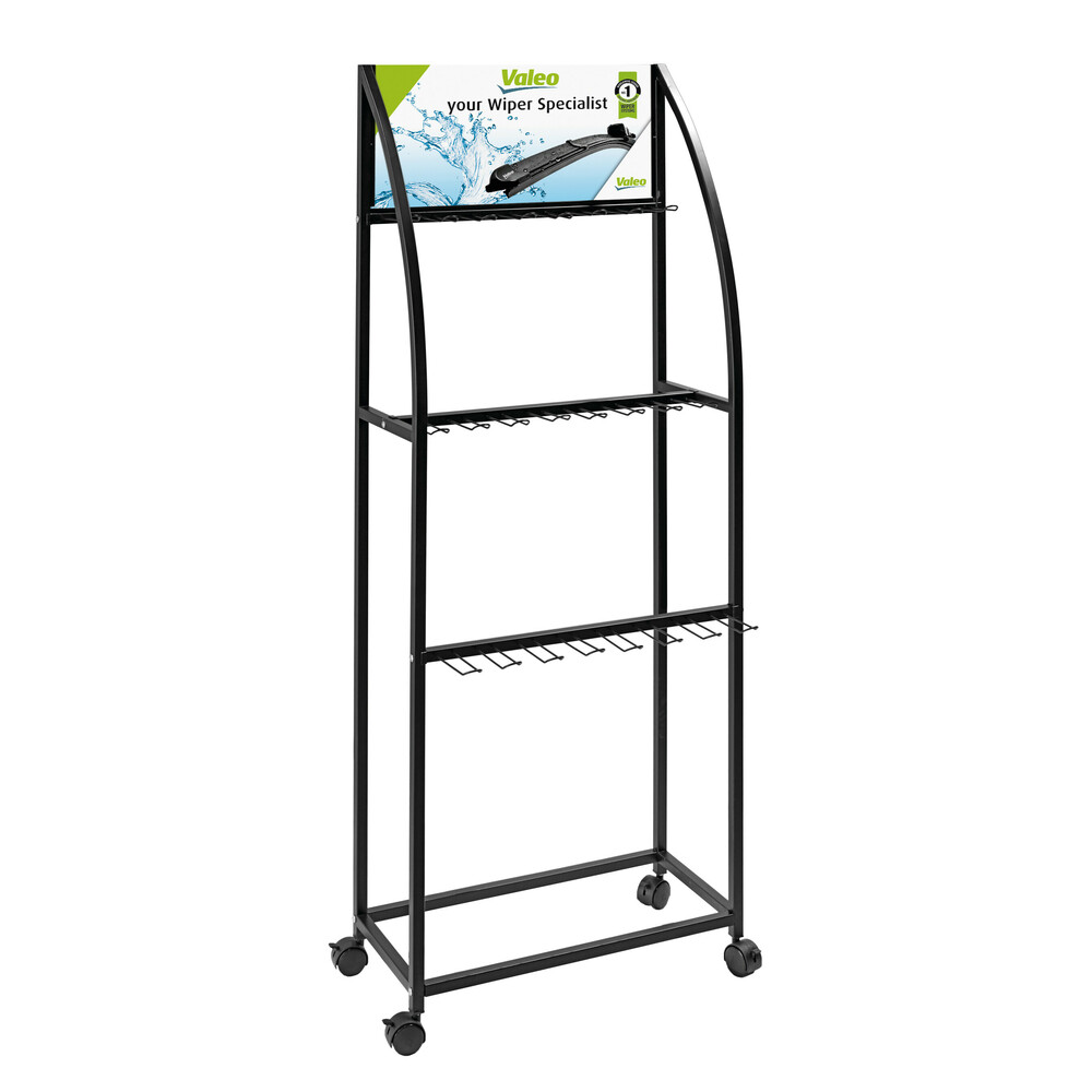 Display stand for Valeo wiper blades