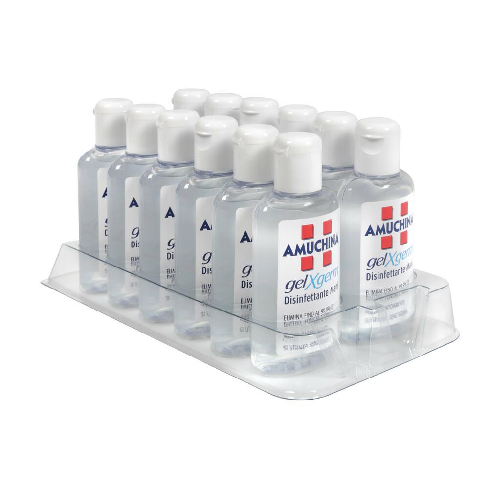 Amuchina Gel X-Germ, disinfettante mani tascabile, 80 ml