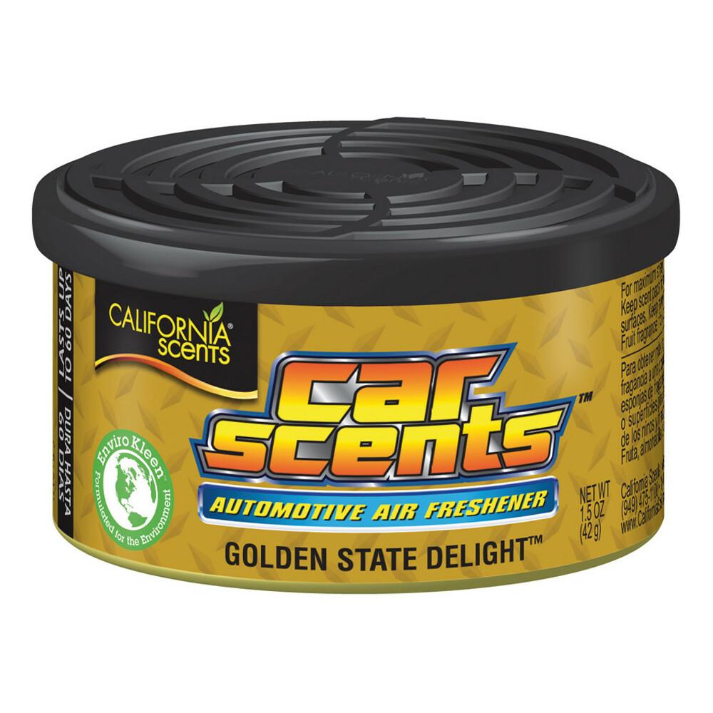 Espositore con 12 deodoranti Car Scents - Golden state delight