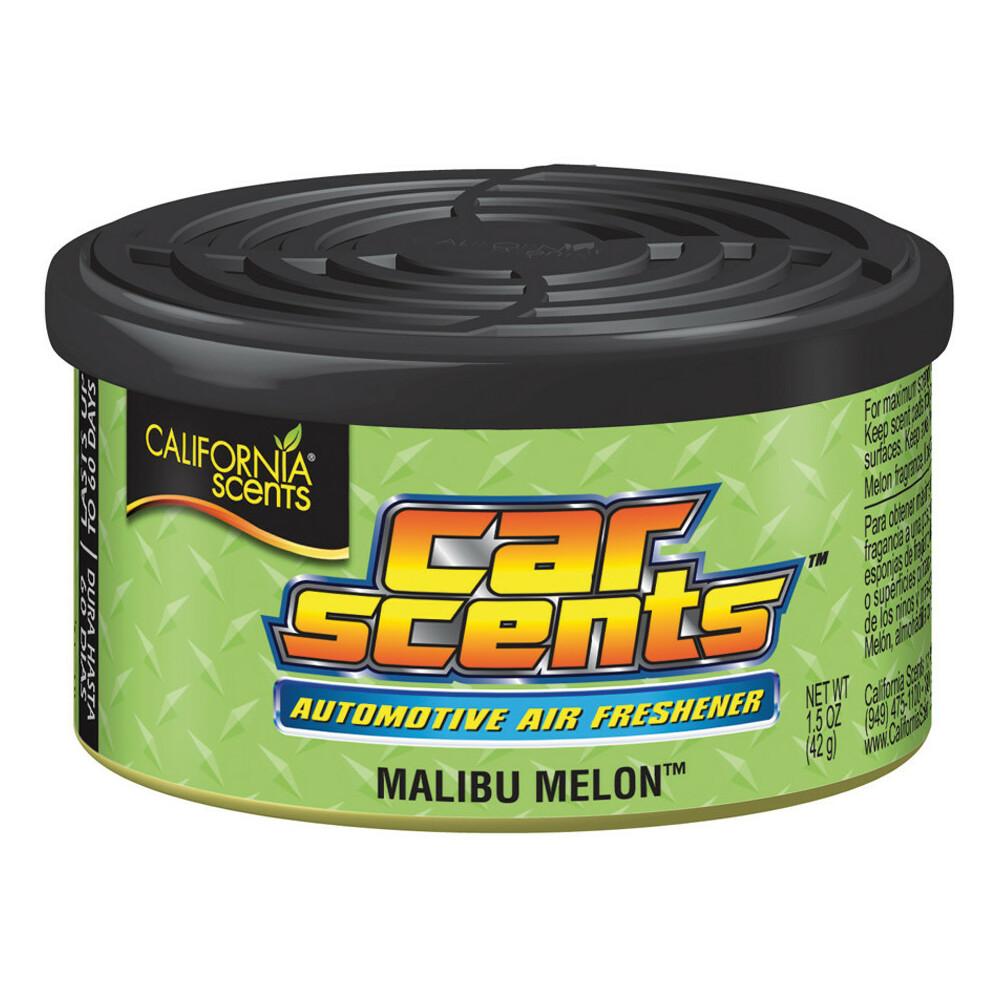 Espositore con 12 deodoranti Car Scents - Malibu melon