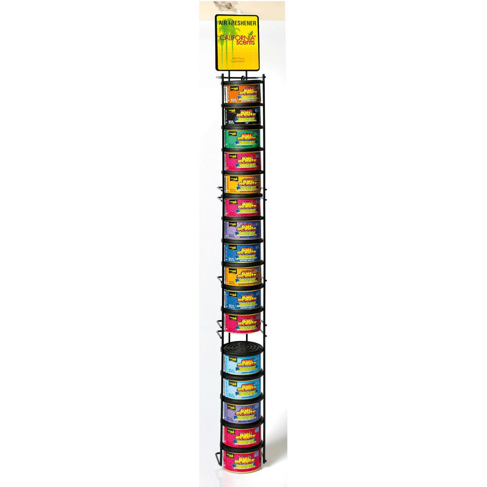 Espositore da appendere con 16 deodoranti Car Scents