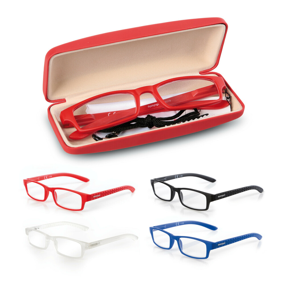 Michelangelo, reading glasses - 4 pcs set, +3.5 gradation refills