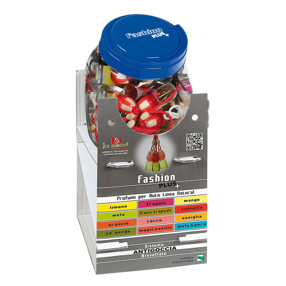 Fashion Plus Natural, deodorante - Espositore - 48 pz assortiti