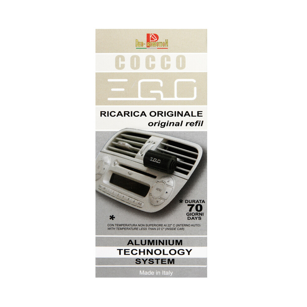 Ego, deodorante - Ricarica - Cocco