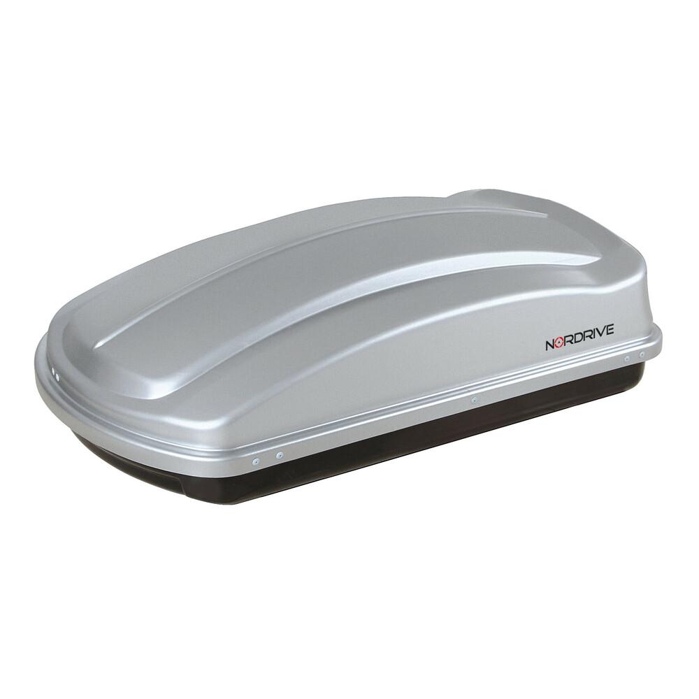 NORDRIVE N60004 NERO GOFFRATO LAMPA BOX BAULE DA TETTO IN ABS 330 LITRI