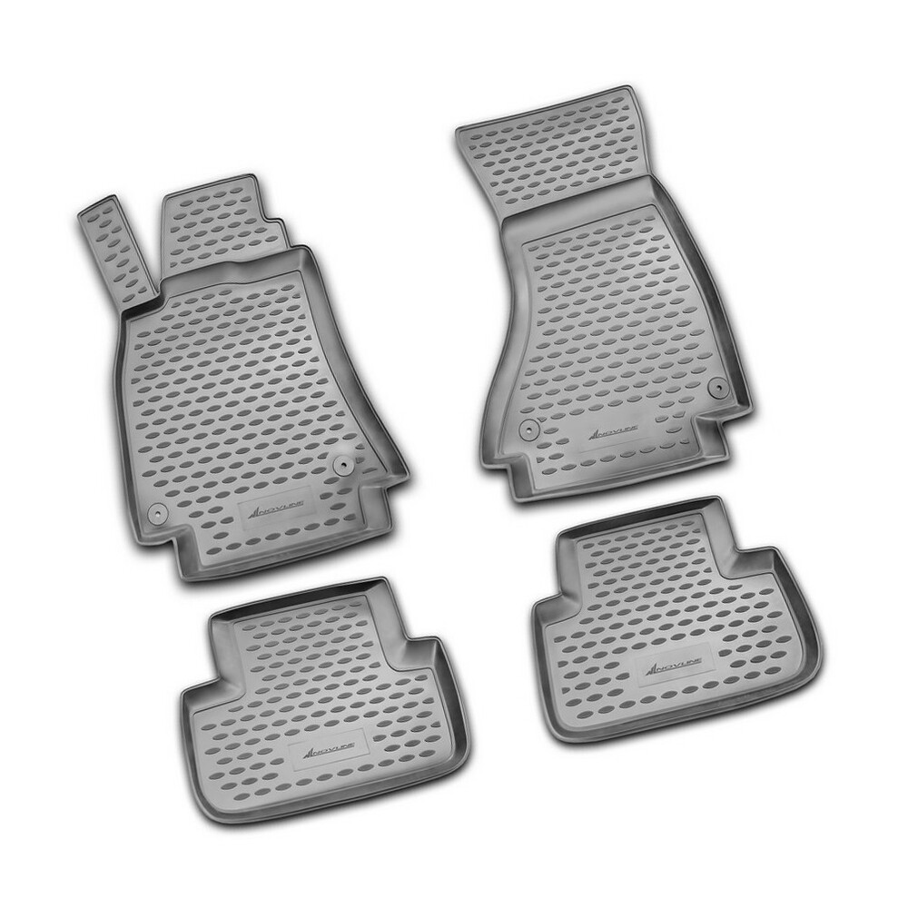 Set tappeti su misura in TPE -  Audi A4 4p (11/07>10/15) -  Audi A4 Avant (05/08>10/15)
