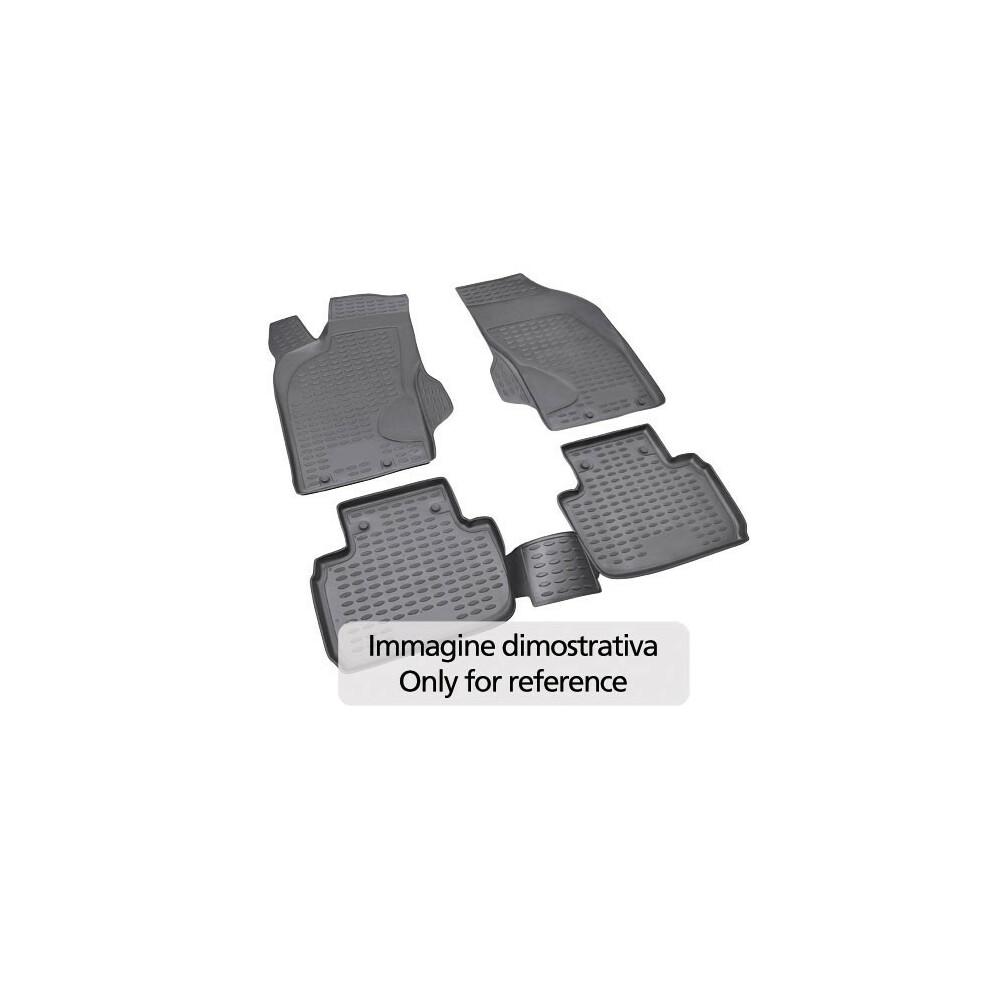 Set tappeti su misura in TPE -  Audi Q3 (02/15>)