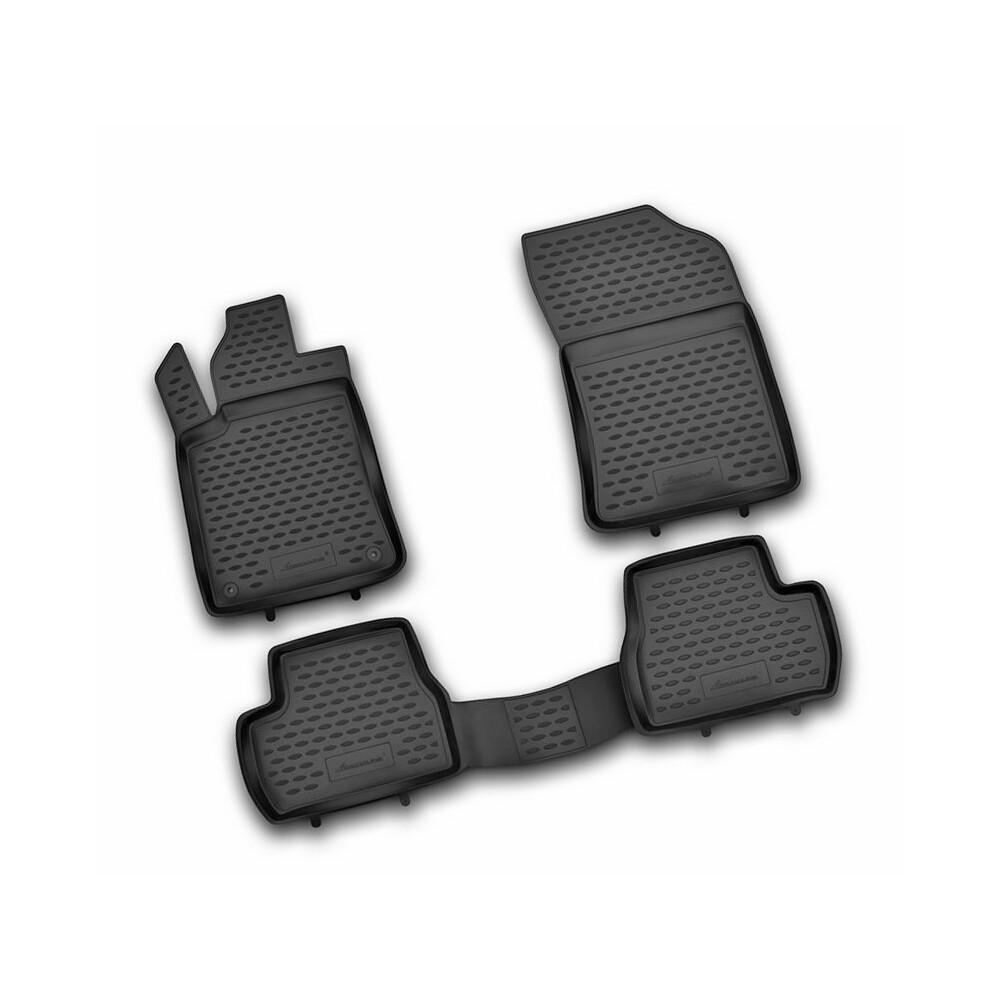 Set tappeti su misura in TPE -  Citroen DS3 (03/10>) -  Citroen DS3 Cabrio (11/12>)