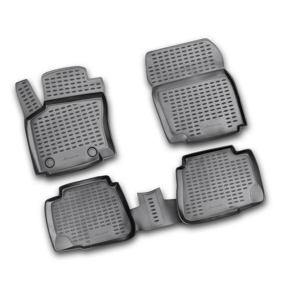 Set tappeti su misura in TPE -  Ford Mondeo 4p (05/07>10/14) -  Ford Mondeo 5p (05/07>10/14)