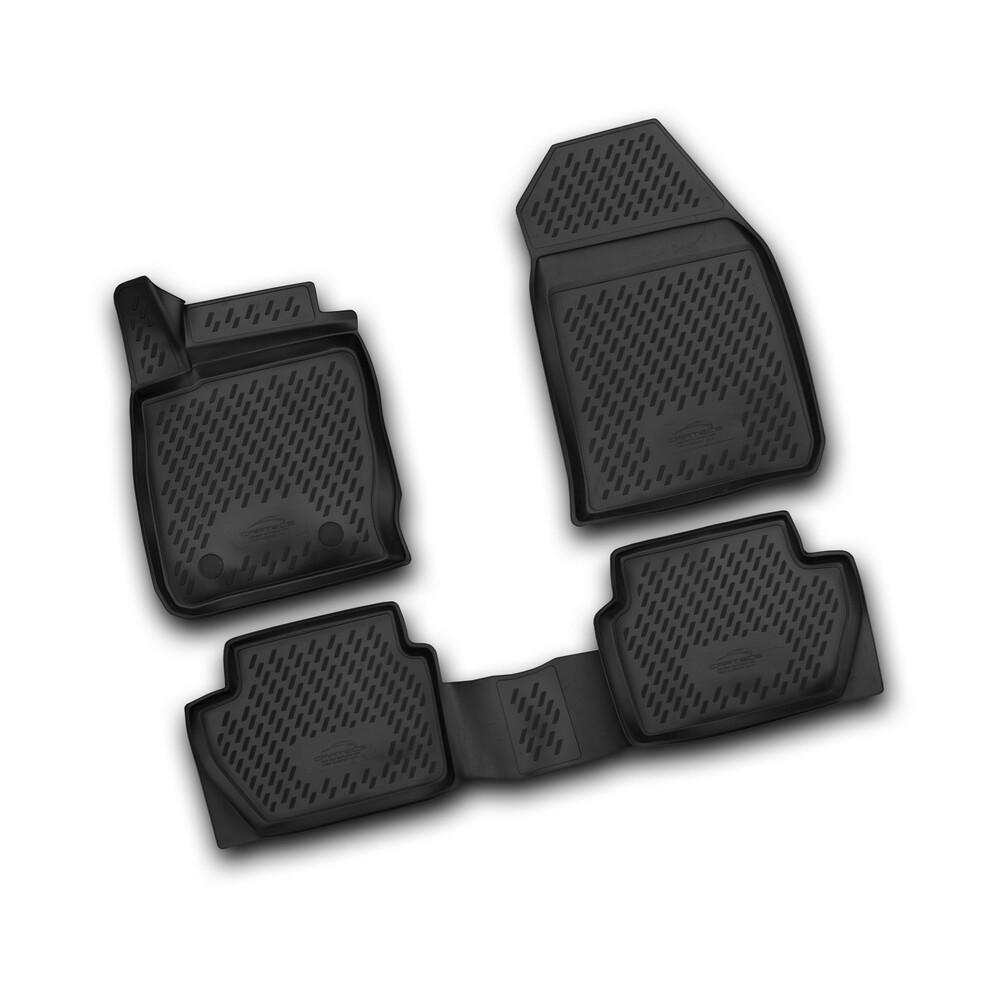 Set tappeti su misura in TPE -  Ford Ecosport (03/14>)