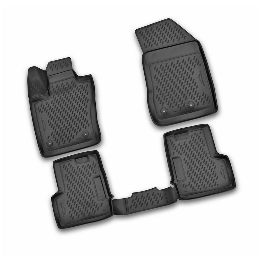 Set tappeti su misura in TPE -  Fiat 500X (02/15>) -  Jeep Renegade (09/14>)
