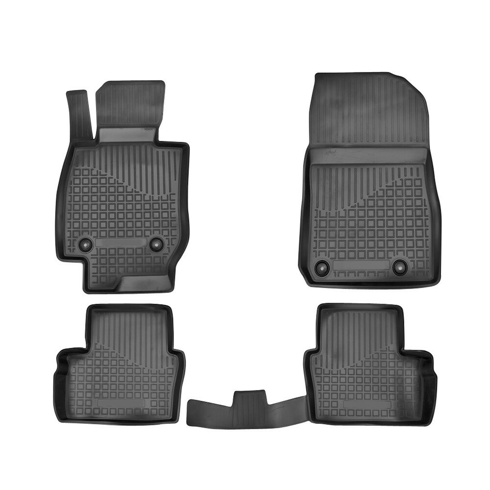 MAZDA 3 03-09 FULLY FITTED CUSTOM MADE TAILORED RUBBER Car Floor Mats HEAVY DUTY