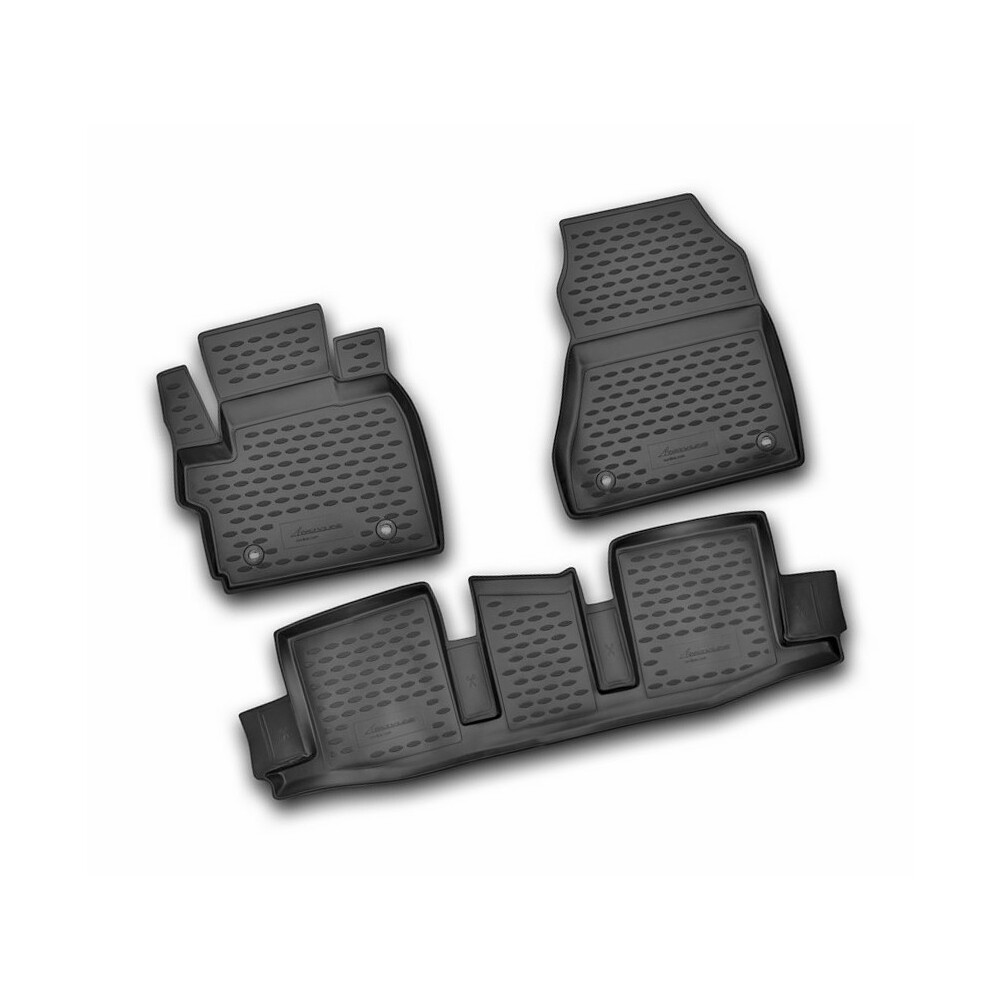 04-09 VAUXHALL ASTRA 2 Clip RUBBER DRIVERS FLOOR CAR MAT TAILORED