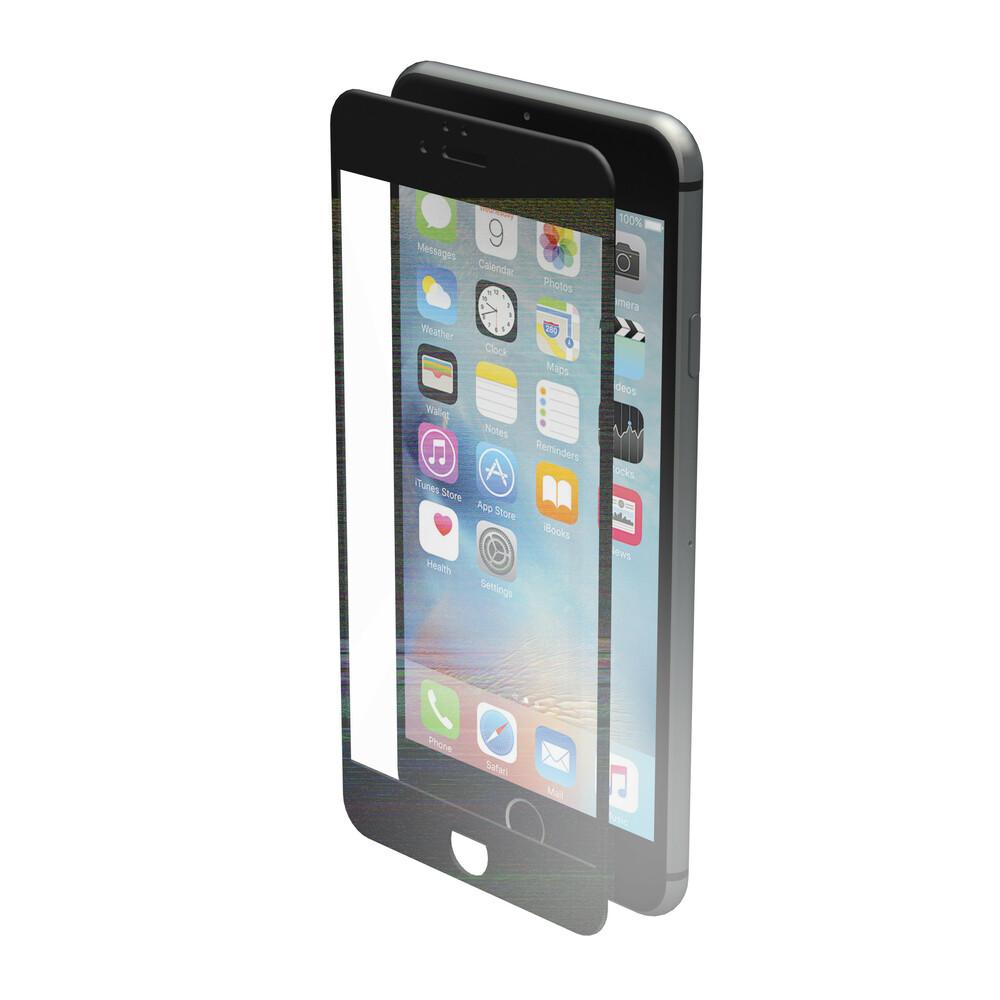 Phantom, vetro temperato protettivo da bordo a bordo - Apple iPhone 6 Plus / 6s Plus - Glossy Black